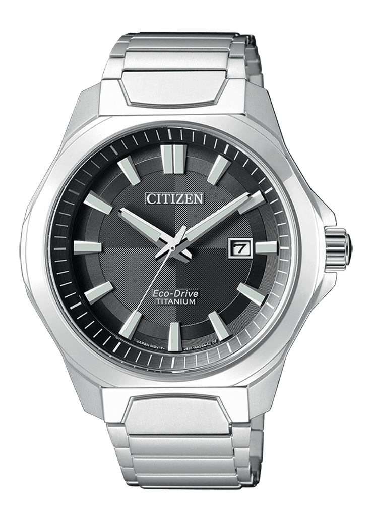 Citizen uomo Supertitanio 1540 Quadrante nero