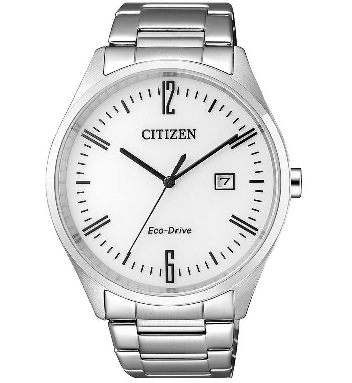 Citizen Joy Cassa e bracciale acciaio, quadrante bianco