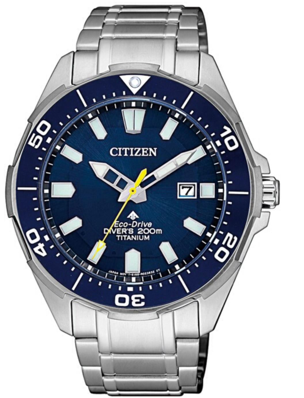Citizen Diver's Supertitanio - Quadrante blu, cassa e bracciale Supertitanio