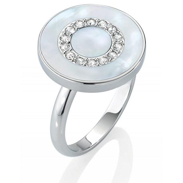 Morellato Anello Perfetta (Argento, pietra color Madreperla)