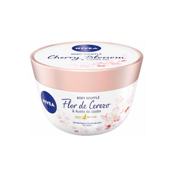 Nivea Body Soufflé Cherry Blossom & Jojoba Oil 200ml