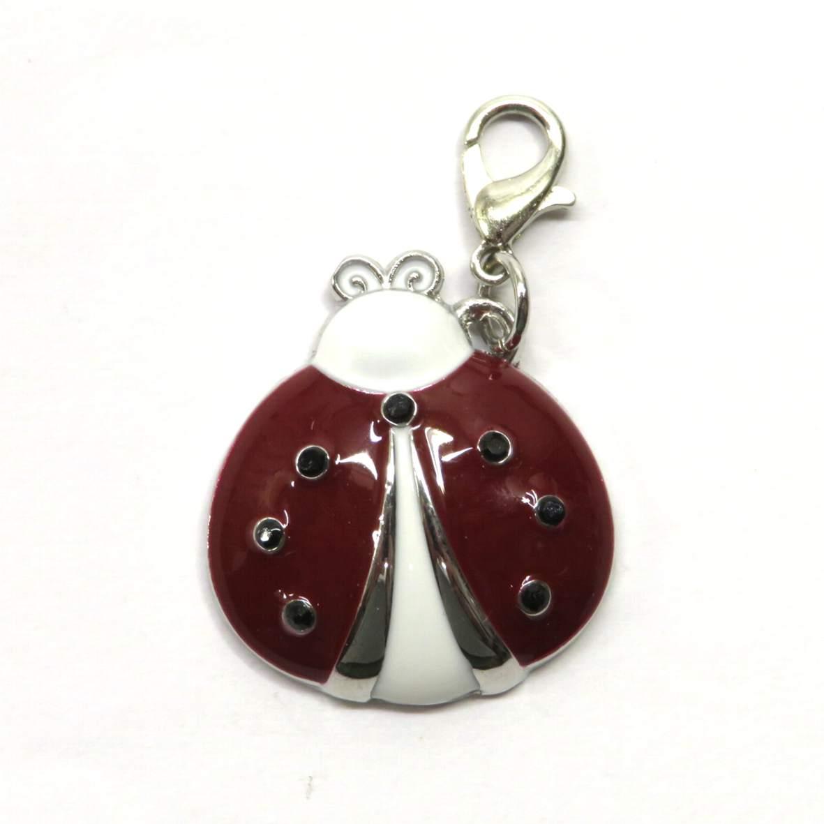 Ciondolo per braccialetto o collana Coccinella di Wald