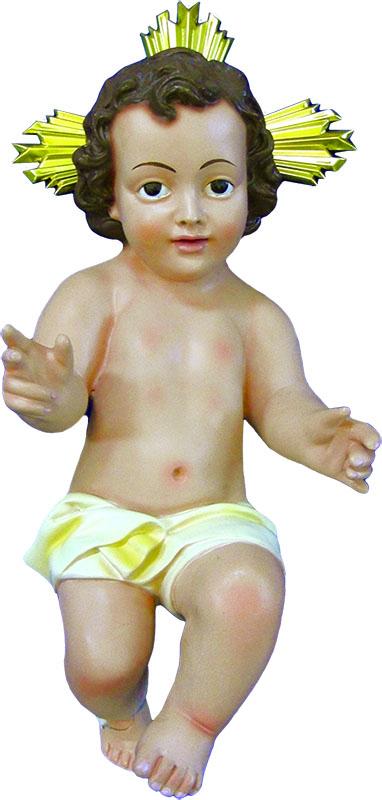 Gesù Bambino in resina cm. 25