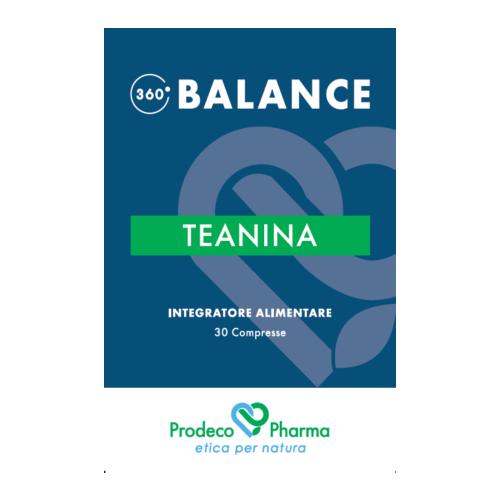 360 BALANCE Teanina 30 Compresse