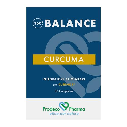360 BALANCE Curcuma 30 Compresse