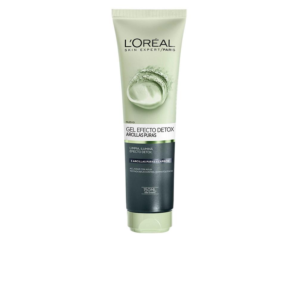 ARCILLAS PURAS gel exfoliante detox negra 150 ml