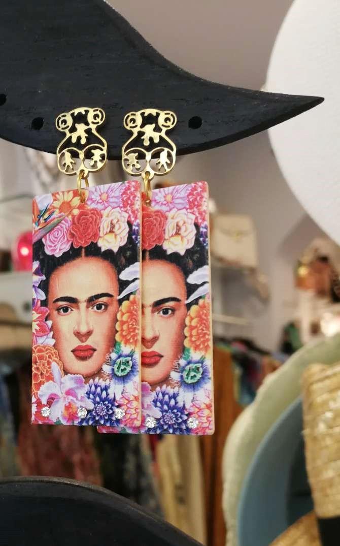 Orecchini donna Frida Kahlo 14