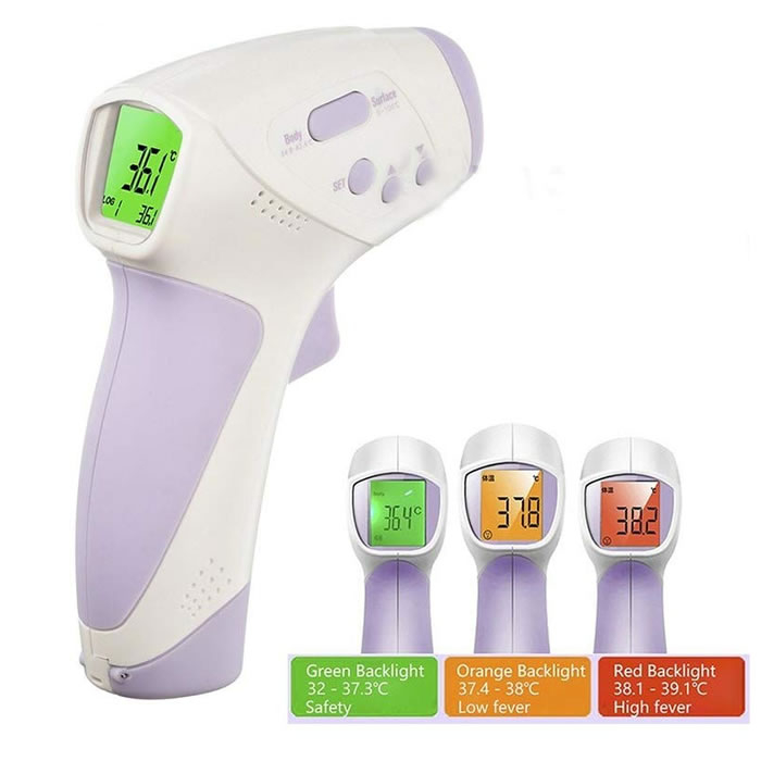 Non-Contact Infrared Thermometer Forehead HT-668