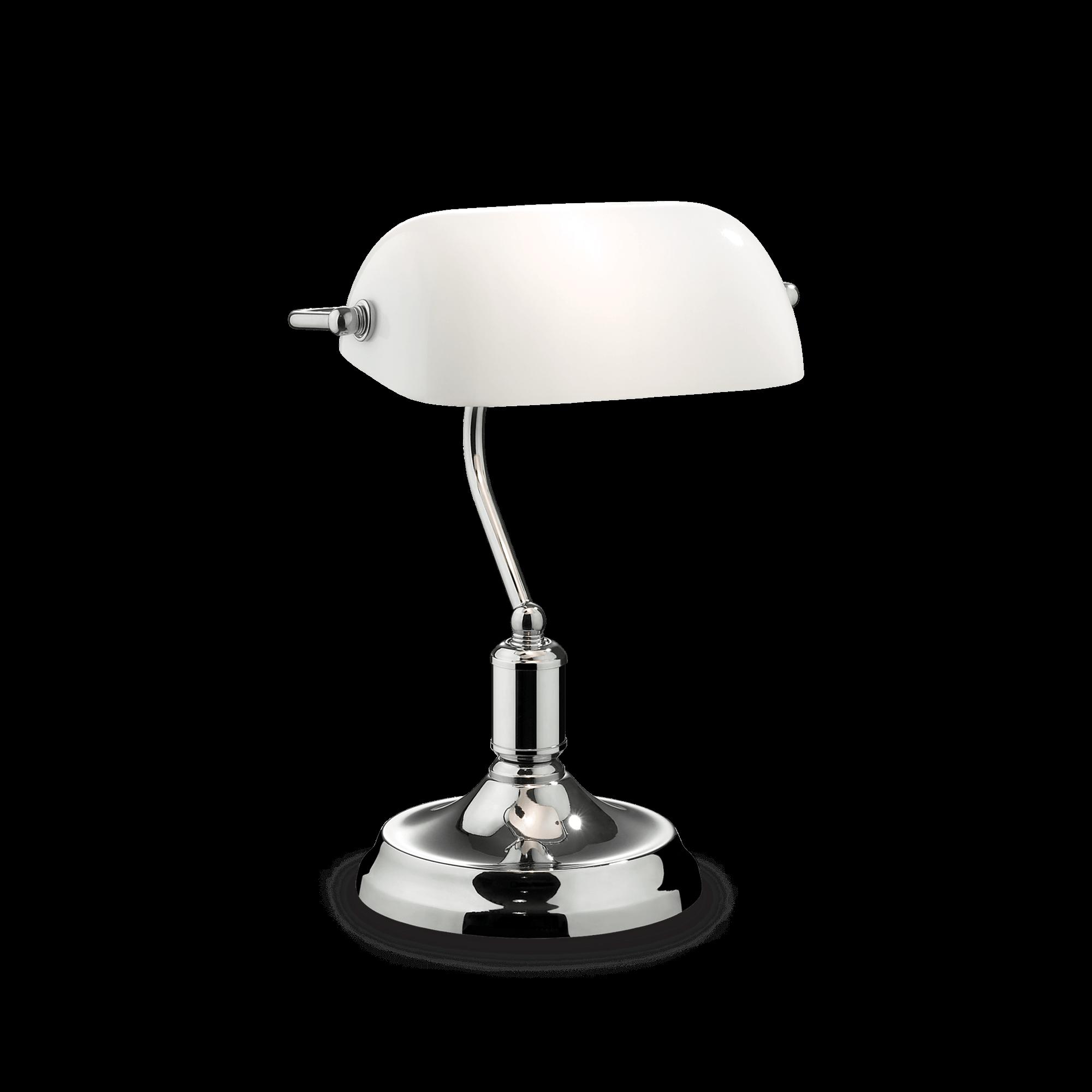 IDEAL LUX LAMPADA DA TAVOLO LAWYER TL1 BIANCO