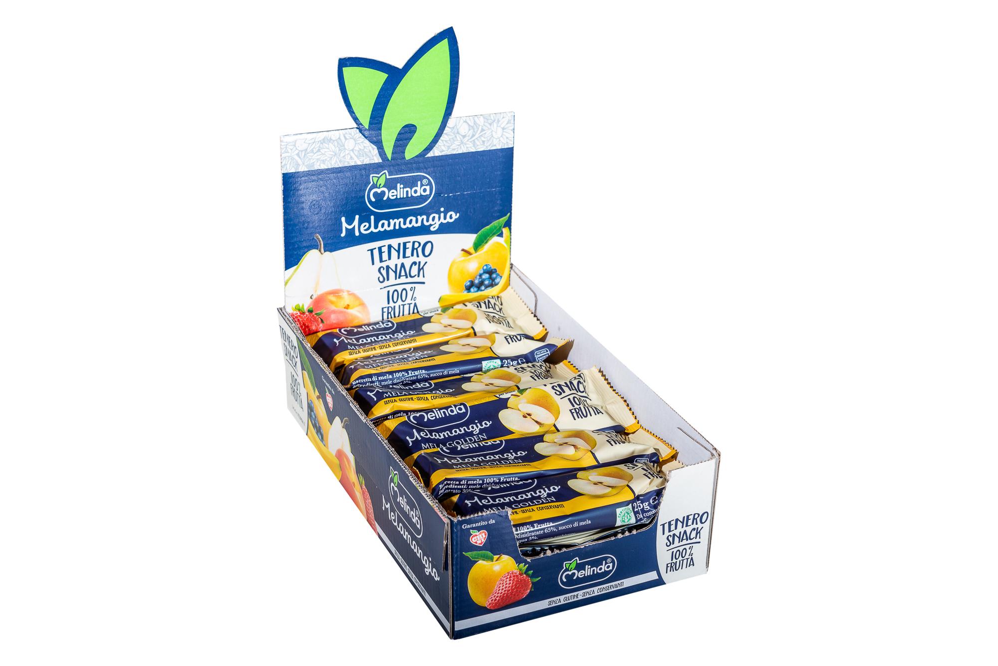 Tenero Snack Melamangio Melinda - Confezione intera - 18 pz da 25g
