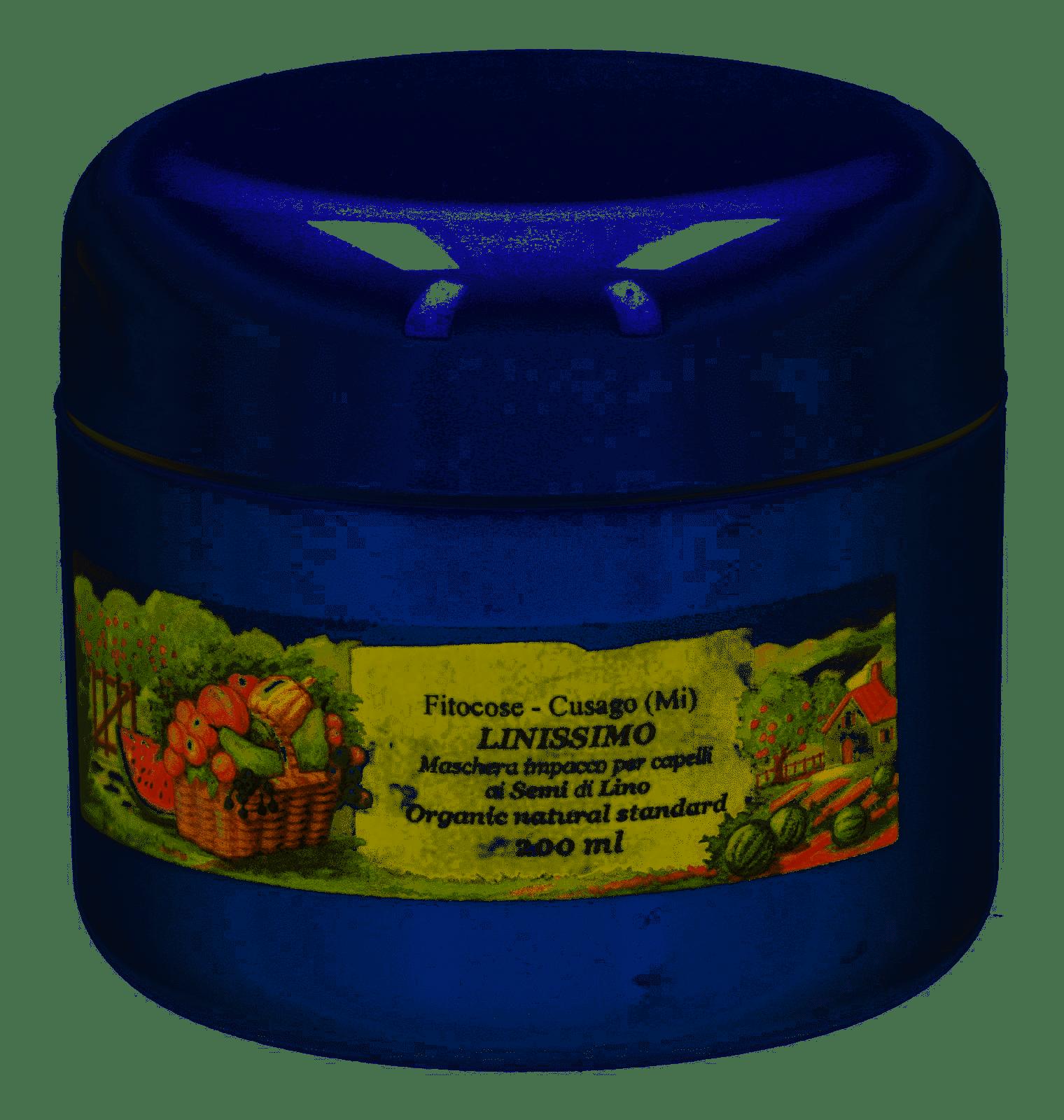 Impacco nutriente capelli ai semi di lino azione ammorbidente
