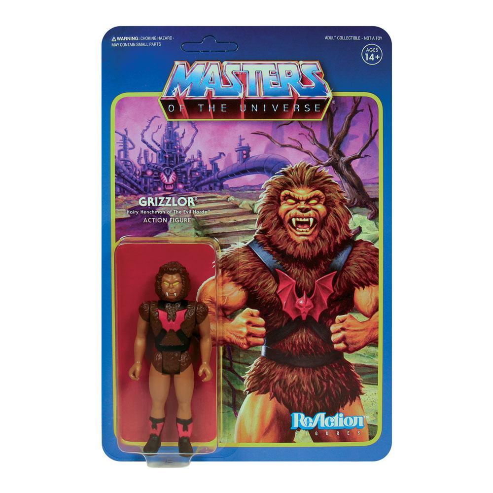 Masters of the Universe ReAction: Wave 5 - GRIZZLOR