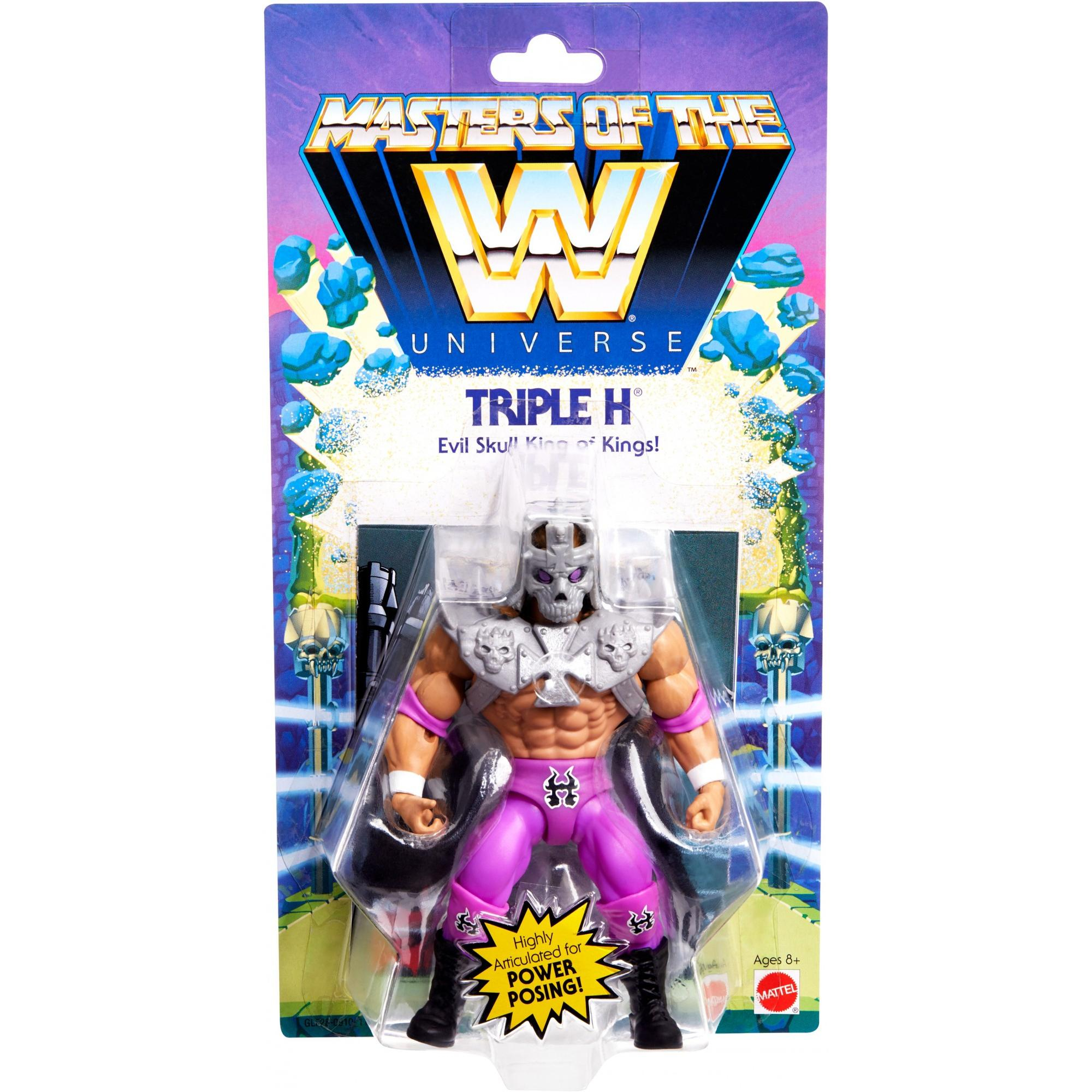 Masters of the WWE Universe: TRIPLE H by Mattel