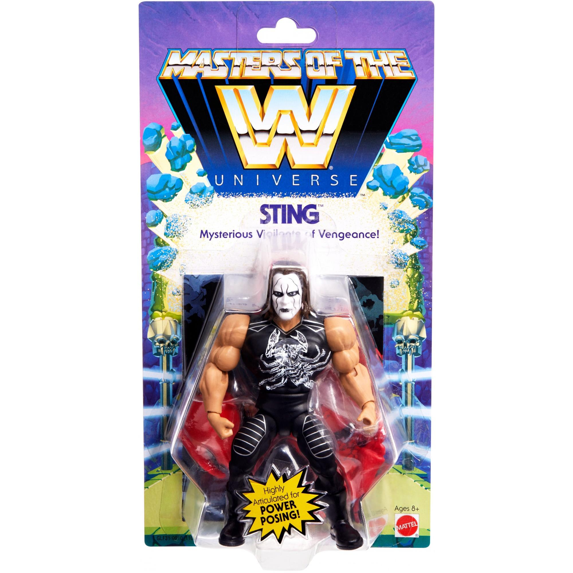 Masters of the WWE Universe: STING by Mattel