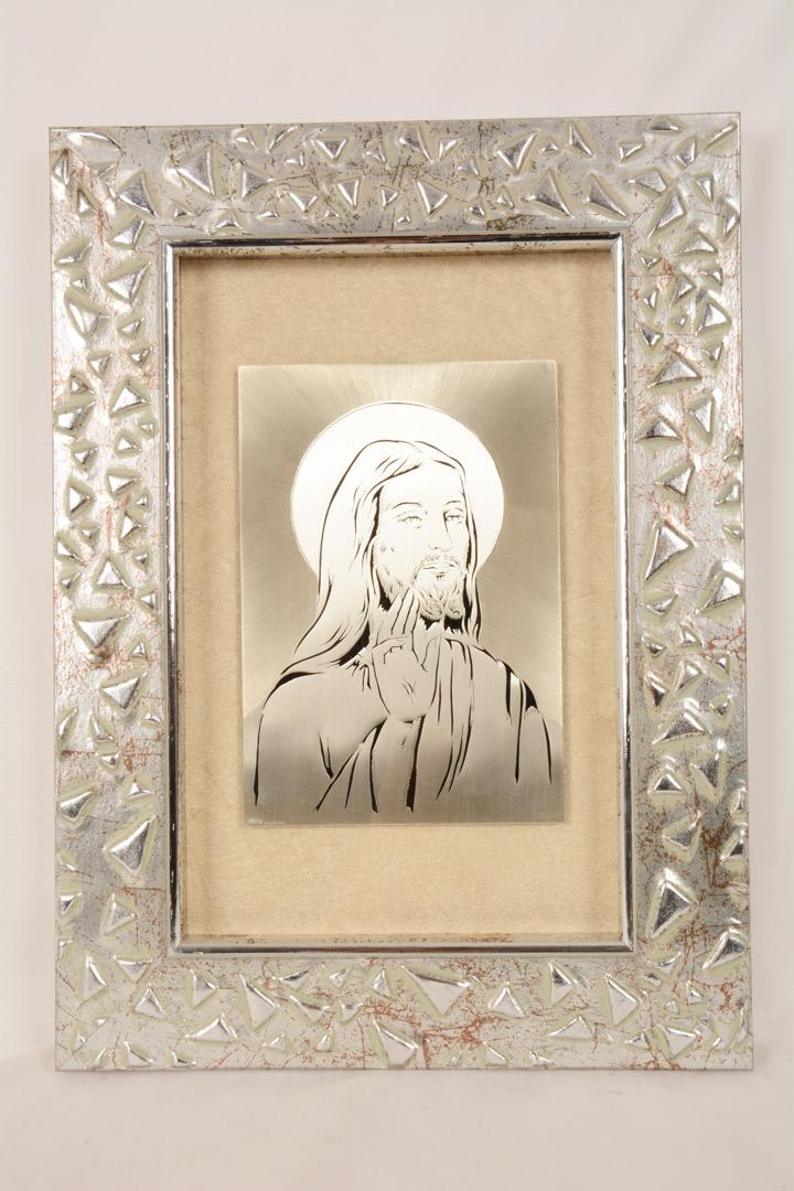 Quadro Cristo cm 44x49