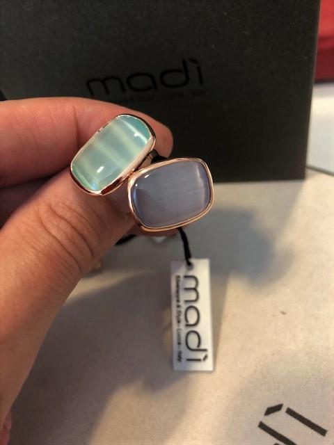 Anelli Madì- argento 925% rosato
