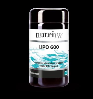 Nutriva Lipo 600 30 Compresse