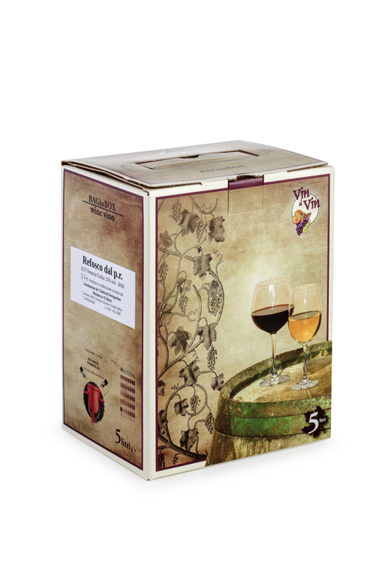 Refosco dal p.r. – Bag in box da 5 litri
