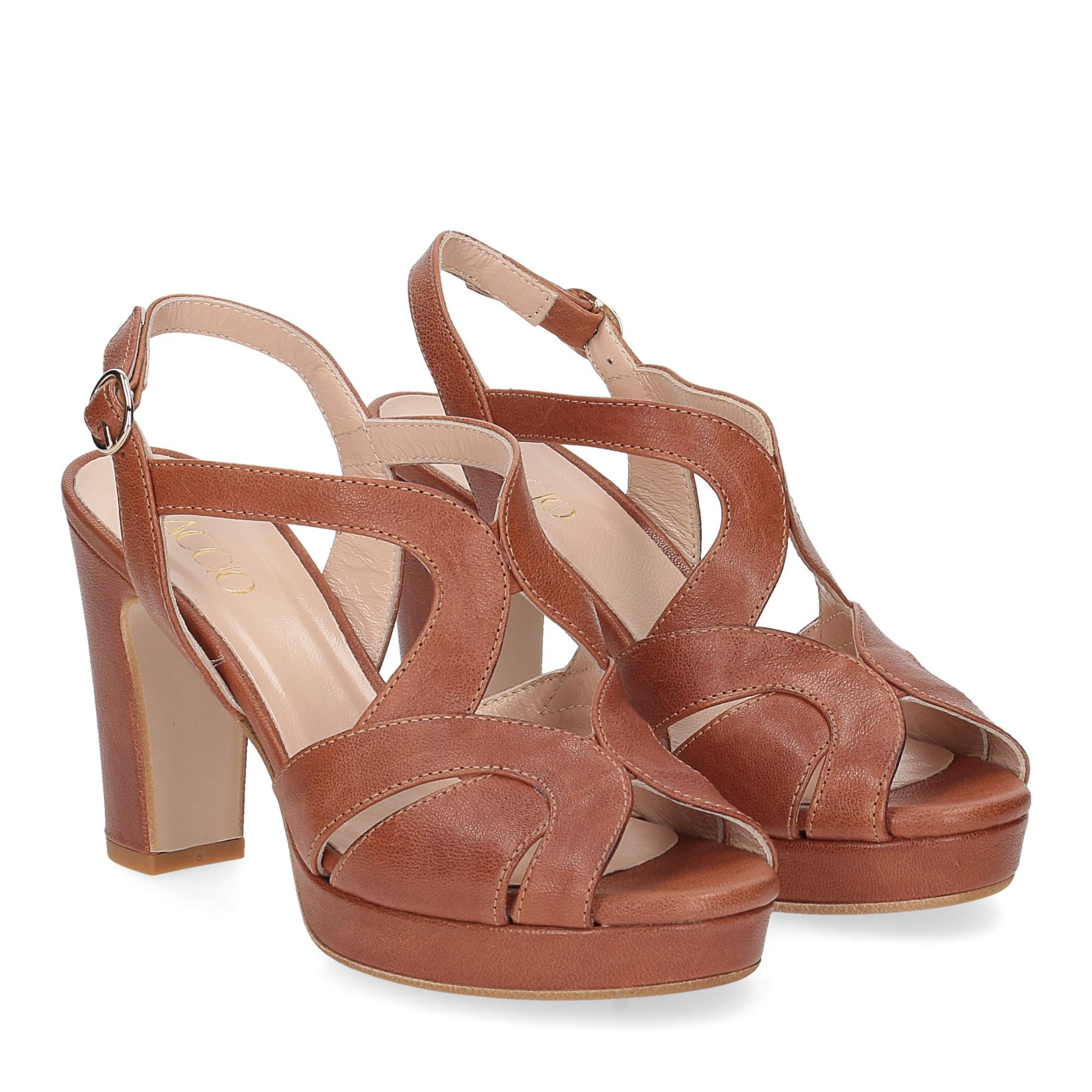 Il Laccio sandalo 3046 pelle cuoio