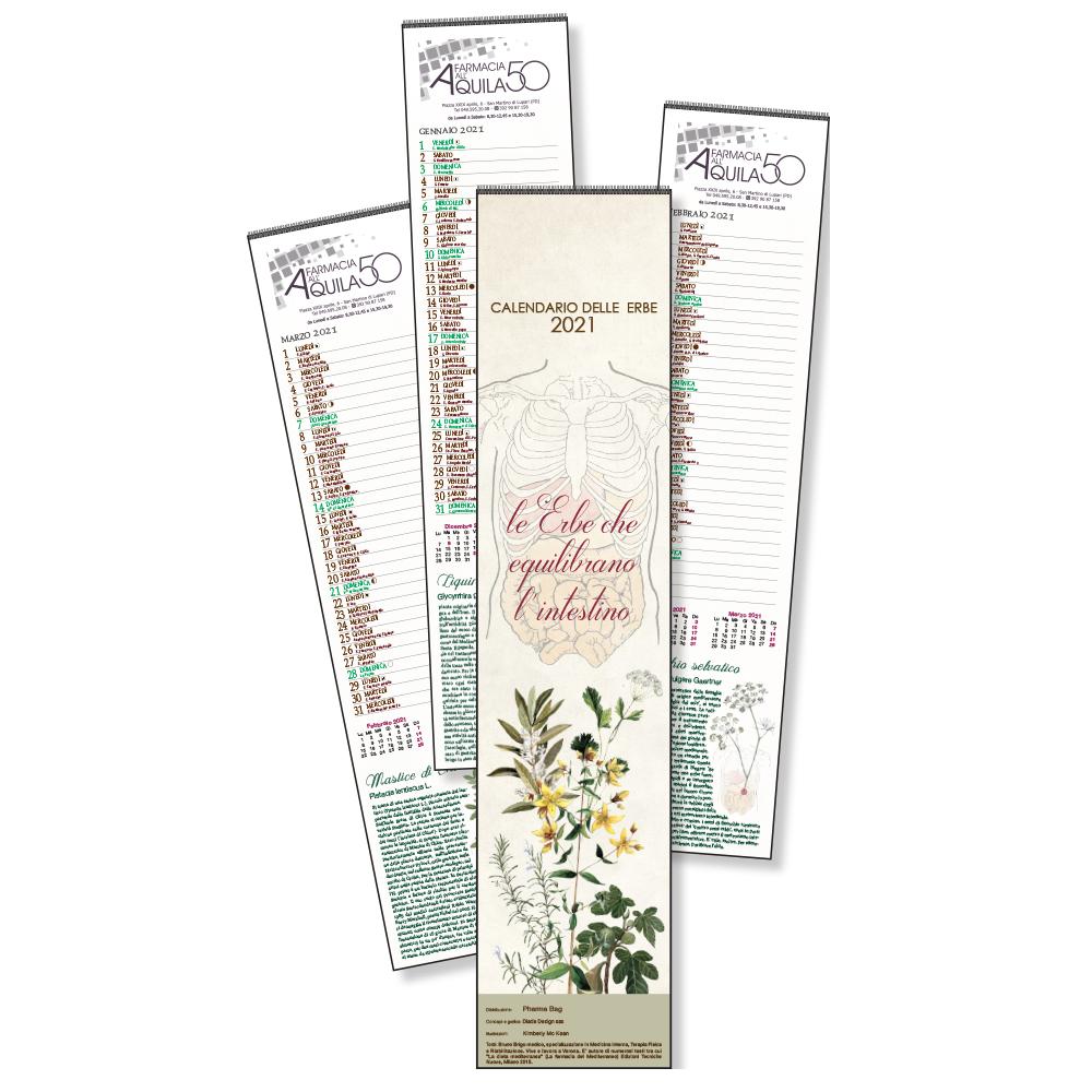 Calendario delle erbe MINI