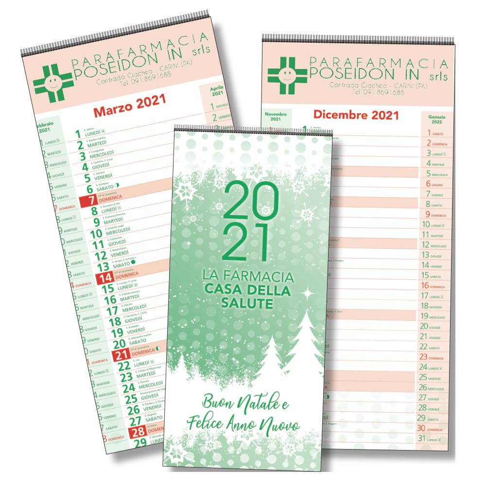 Calendario olandese Color Casa della Salute