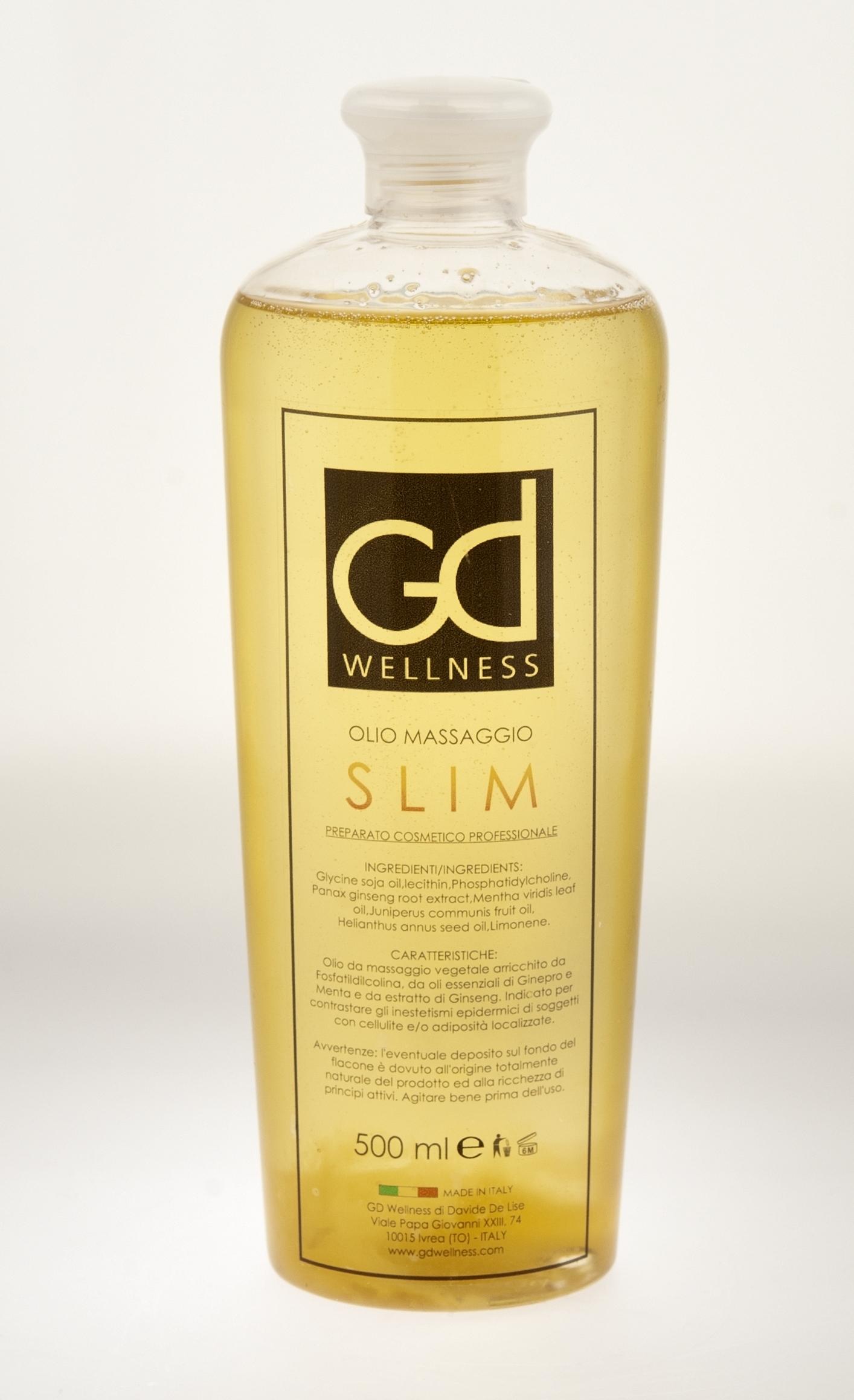 Olio Massaggio SLIM Professionale