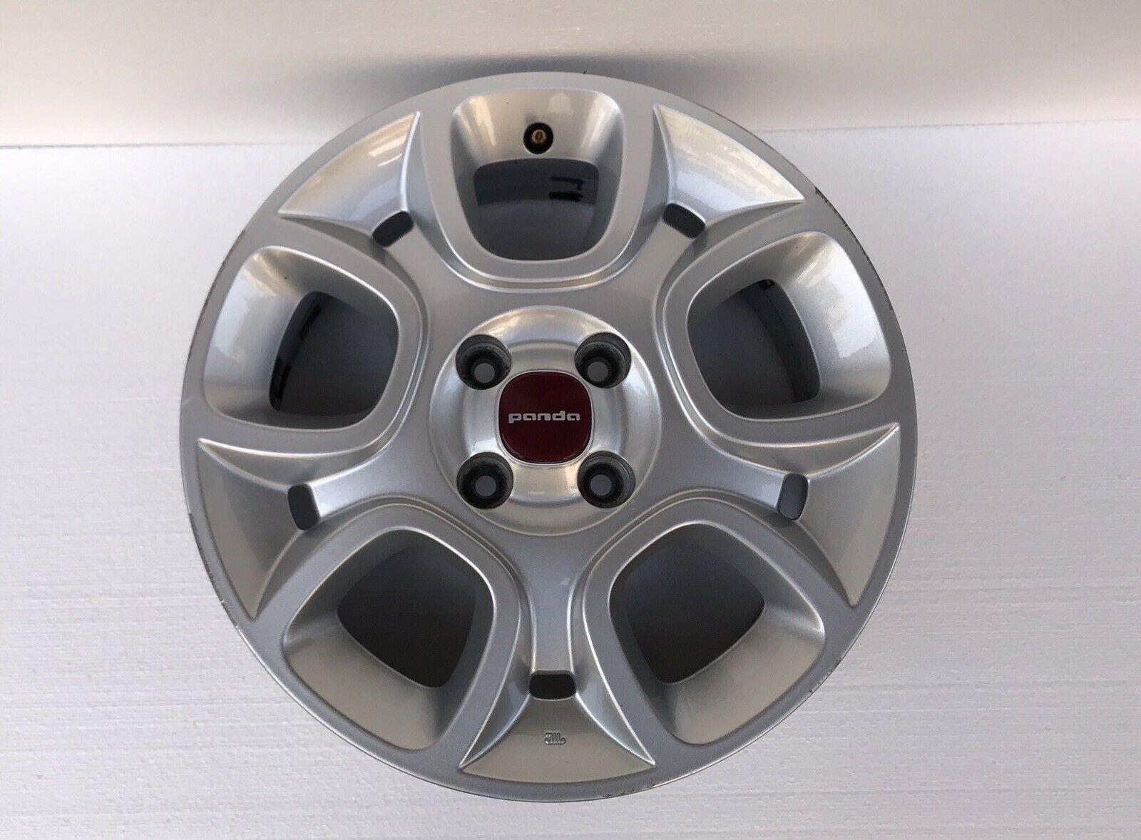 Cerchio In Lega 15 Pollice Fiat Panda Dal 2013 Al 2020 Originale