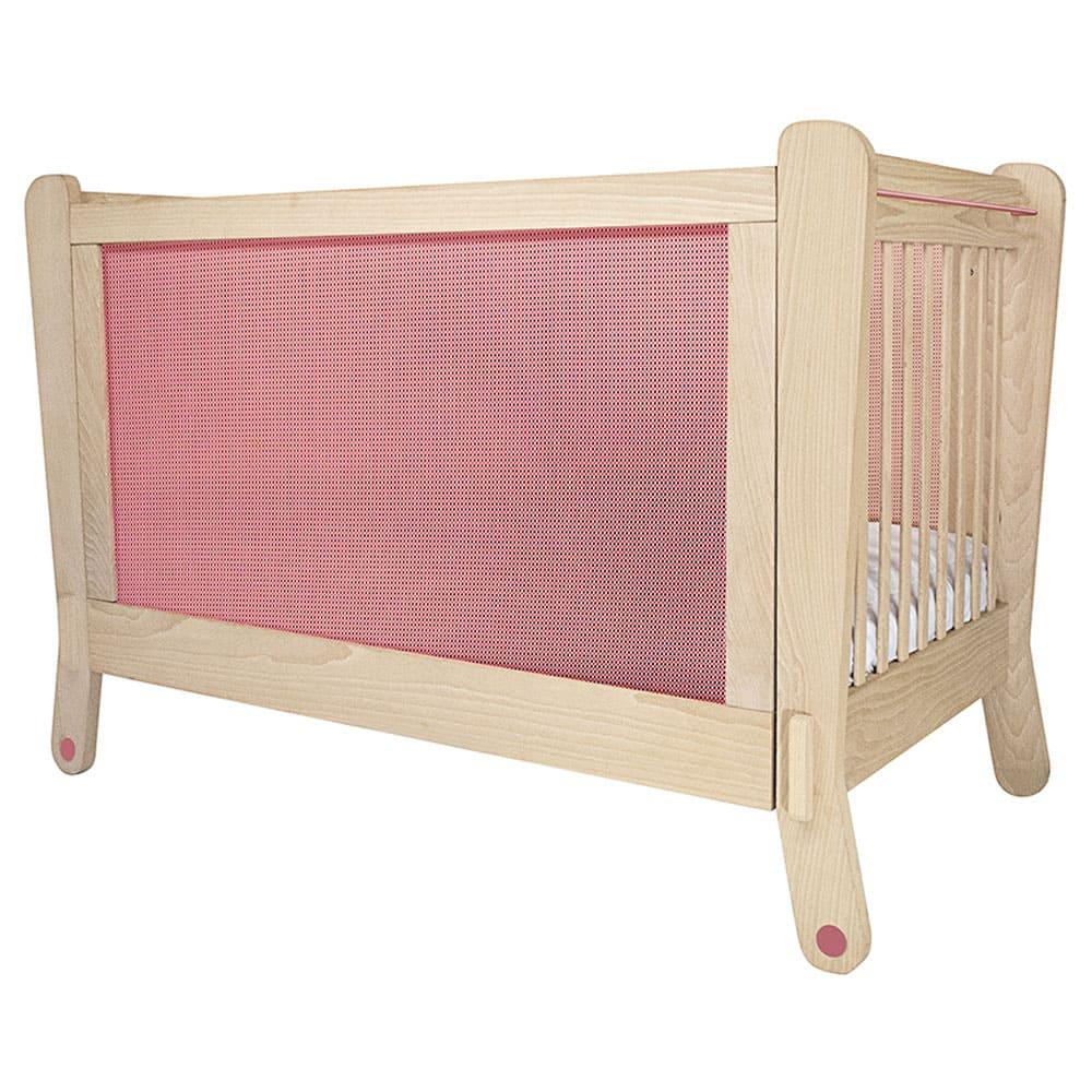 Lettino rosa con protezione elettromagnetica - Albero Bambino