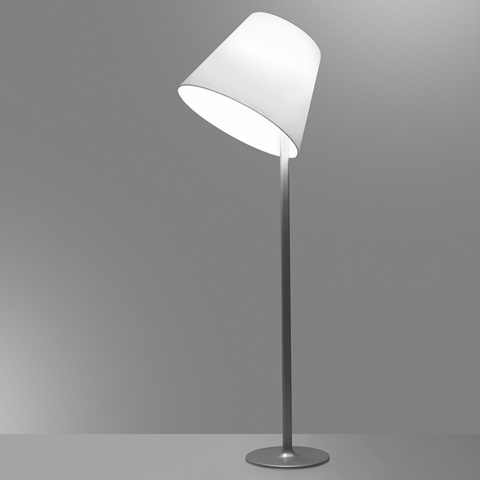 ARTEMIDE LAMPADA MELAMPO FLOOR GRIGIO