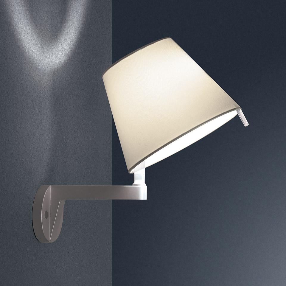 LAMPADA MELAMPO WALL ECRU'-BRONZO ARTEMIDE