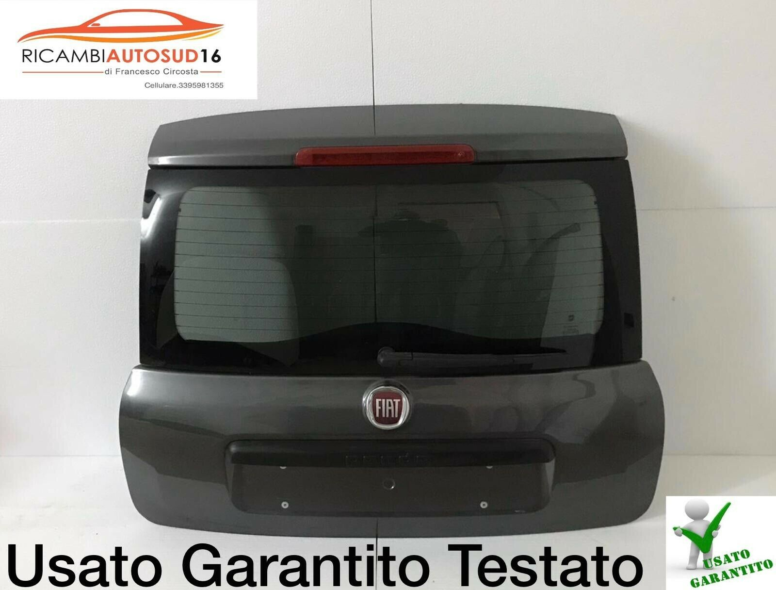 Portellone Cofano Posteriore Fiat Panda Anno 2016 Originale