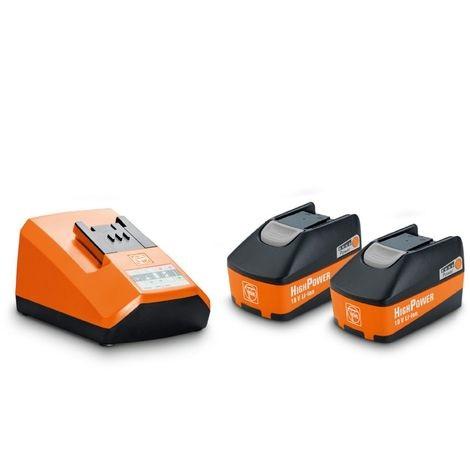 Starter set di batterie High Power 18 V - 5,2 Ah
