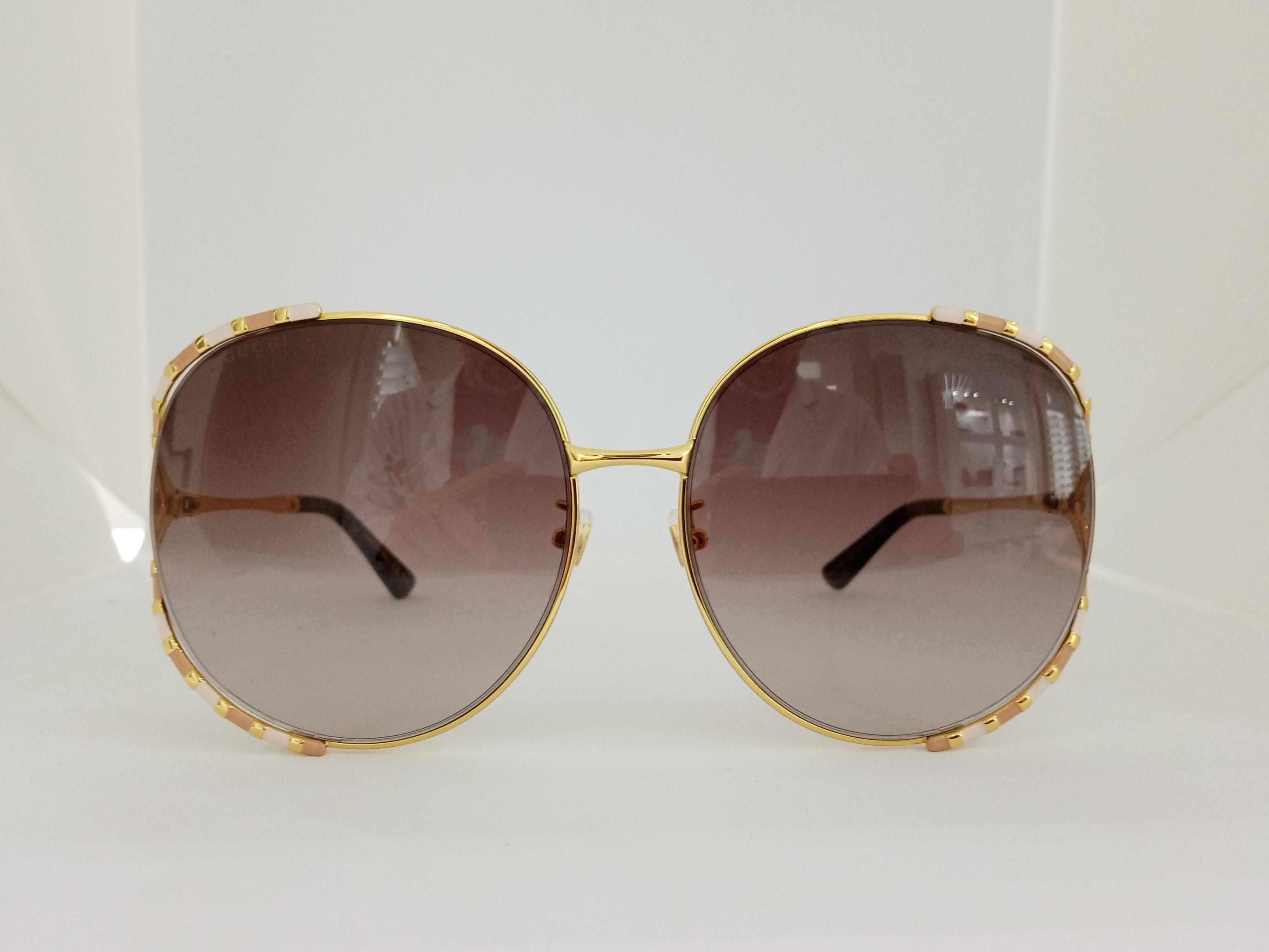 Occhiale da sole Gucci GG0595S 008