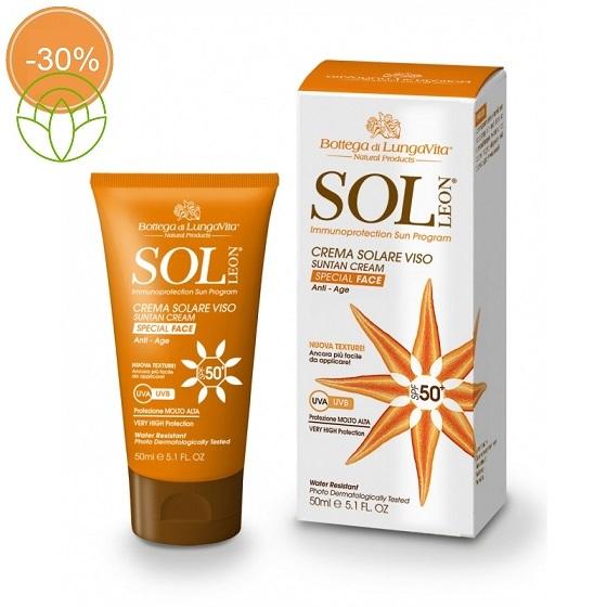 Crema Solare Viso SPF 50+ / Altissima Protezione  50 ml