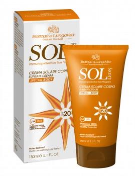 Crema Solare Corpo SPF20 / Media Protezione  150 ml