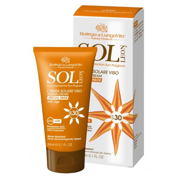 Crema Solare Viso SPF30 / Alta Protezione  50 ml