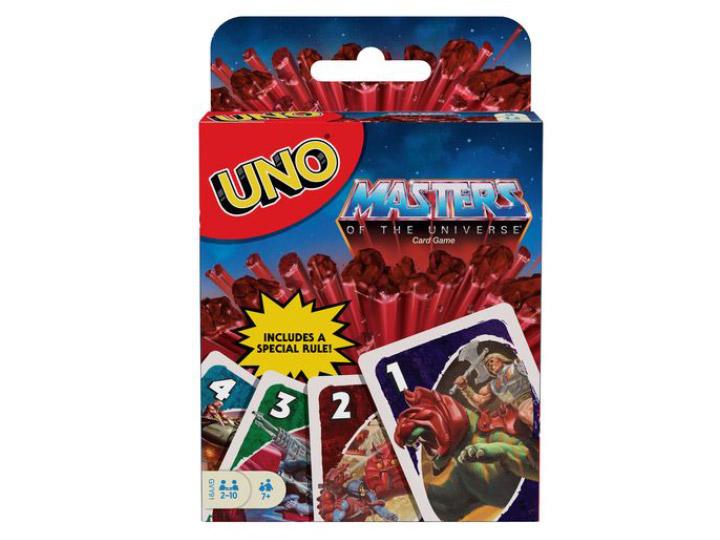 Masters of the Universe gioco di carte UNO by Mattel