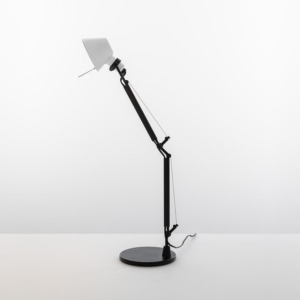 ARTEMIDE LAMPADA TOLOMEO MICRO BICOLOR NERO-BIANCO