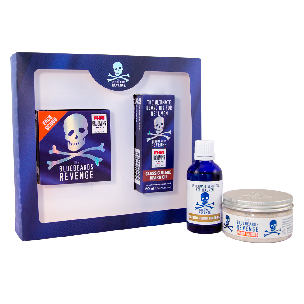The Bluebeards Revenge Scrub Per Il Viso Set 2 Parti 2020