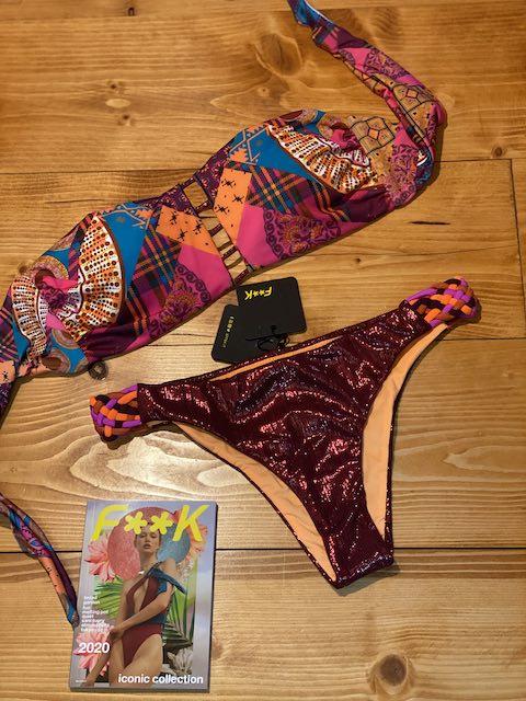 Bikini fascia  e slip fianco fisso Melting Pot Effek
