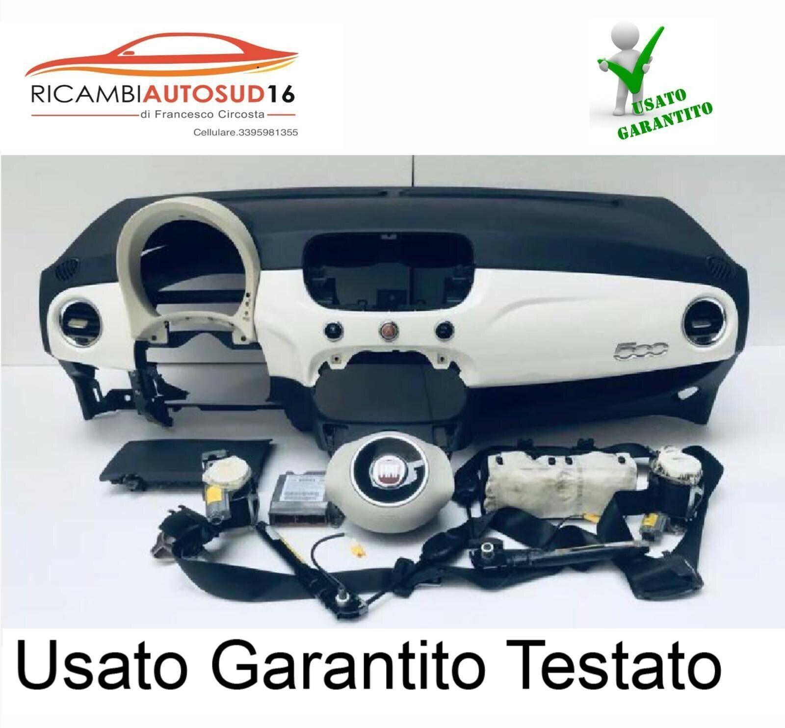 kit airbag fiat 500 Completo Anno Dal 2006 Al 2012 Originale