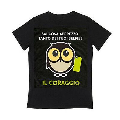 IO TI MALEDICO t-shirt SAI COSA APPREZZO TANTO DEI TUOI SELFIE? IL CORAGGIO coto