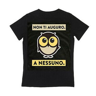 IO TI MALEDICO t-shirt NON TI AUGURO A NESSUNO cotone 100% BY PANINI