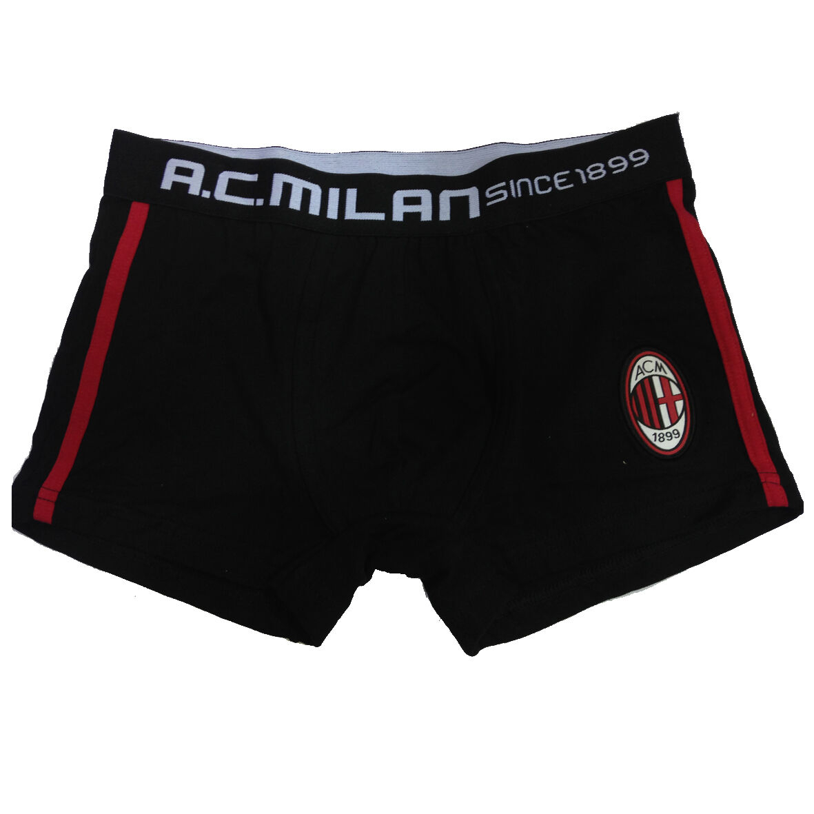 MILAN boxer uomo nero in cotone varie taglie underwear prodotto ufficiale