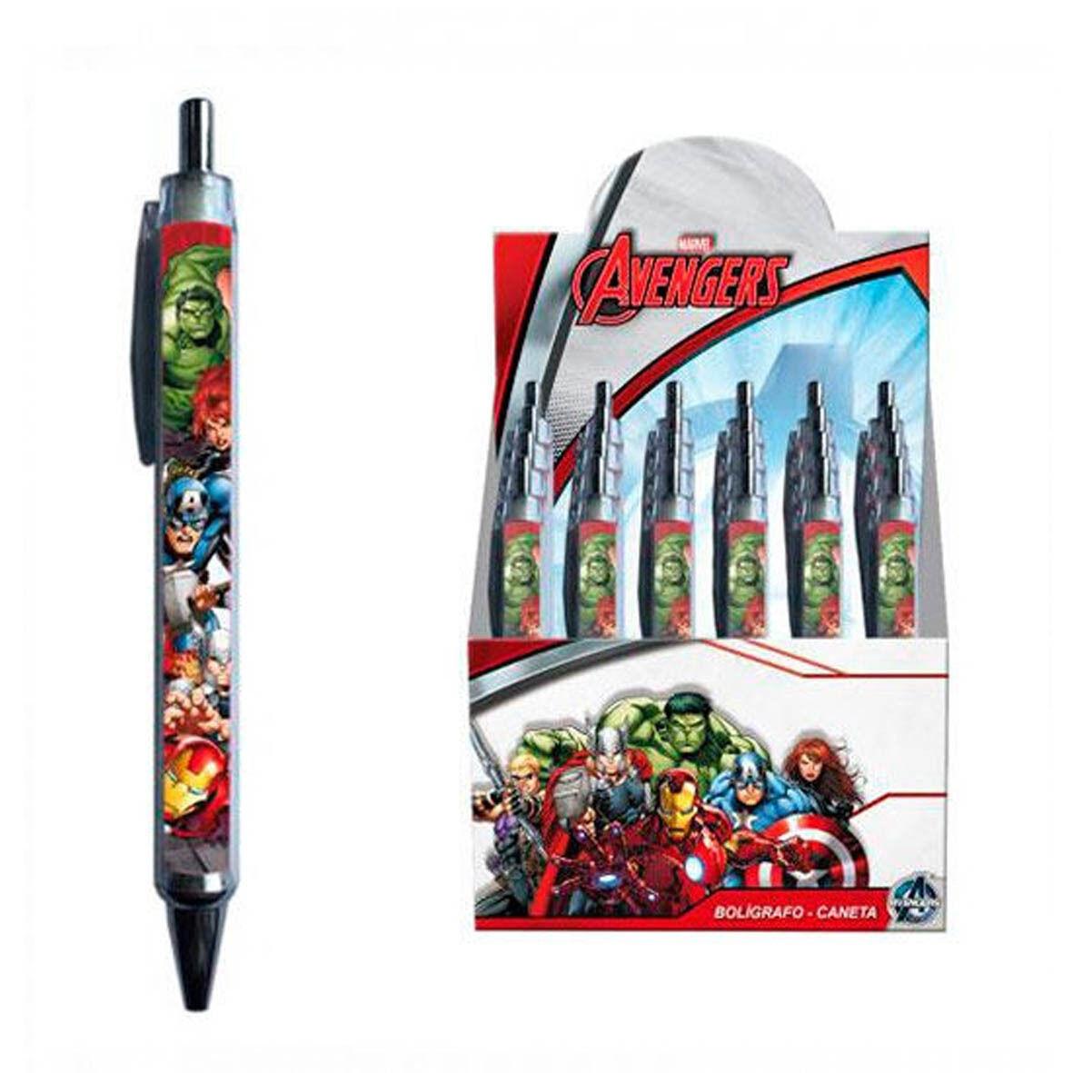 AVENGERS penna a scatto multicolor scuola 13,5 cm da bambino