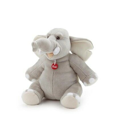 Elefante Teobaldo Trudi  cm 26 Top quality made in Italy