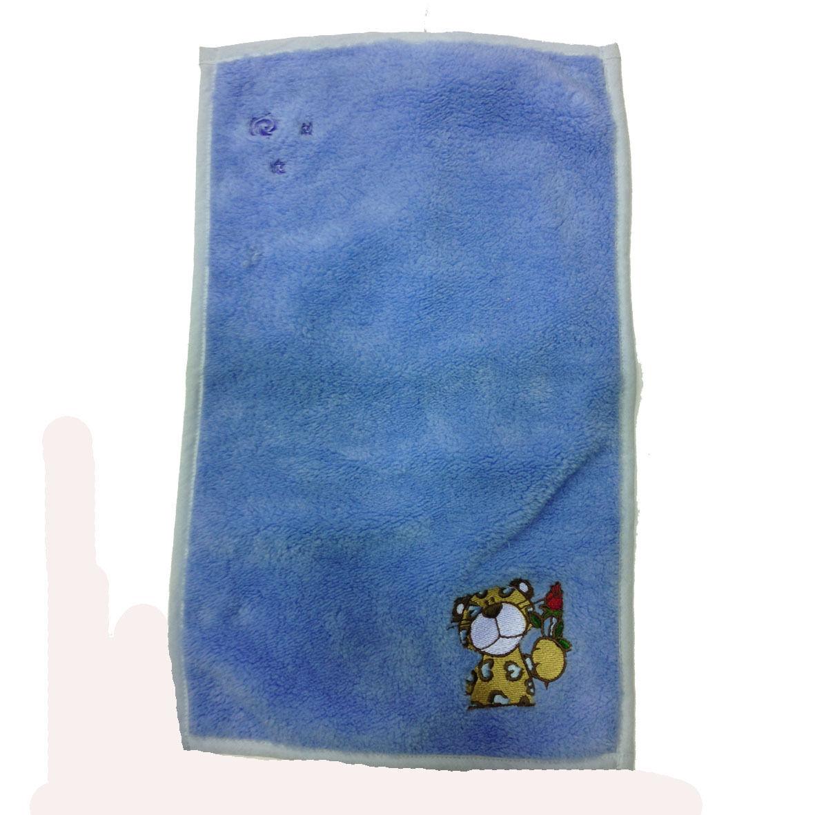 NICI ascigamanino piccolo azzurro ricamato in morbido peluches 30x50cm