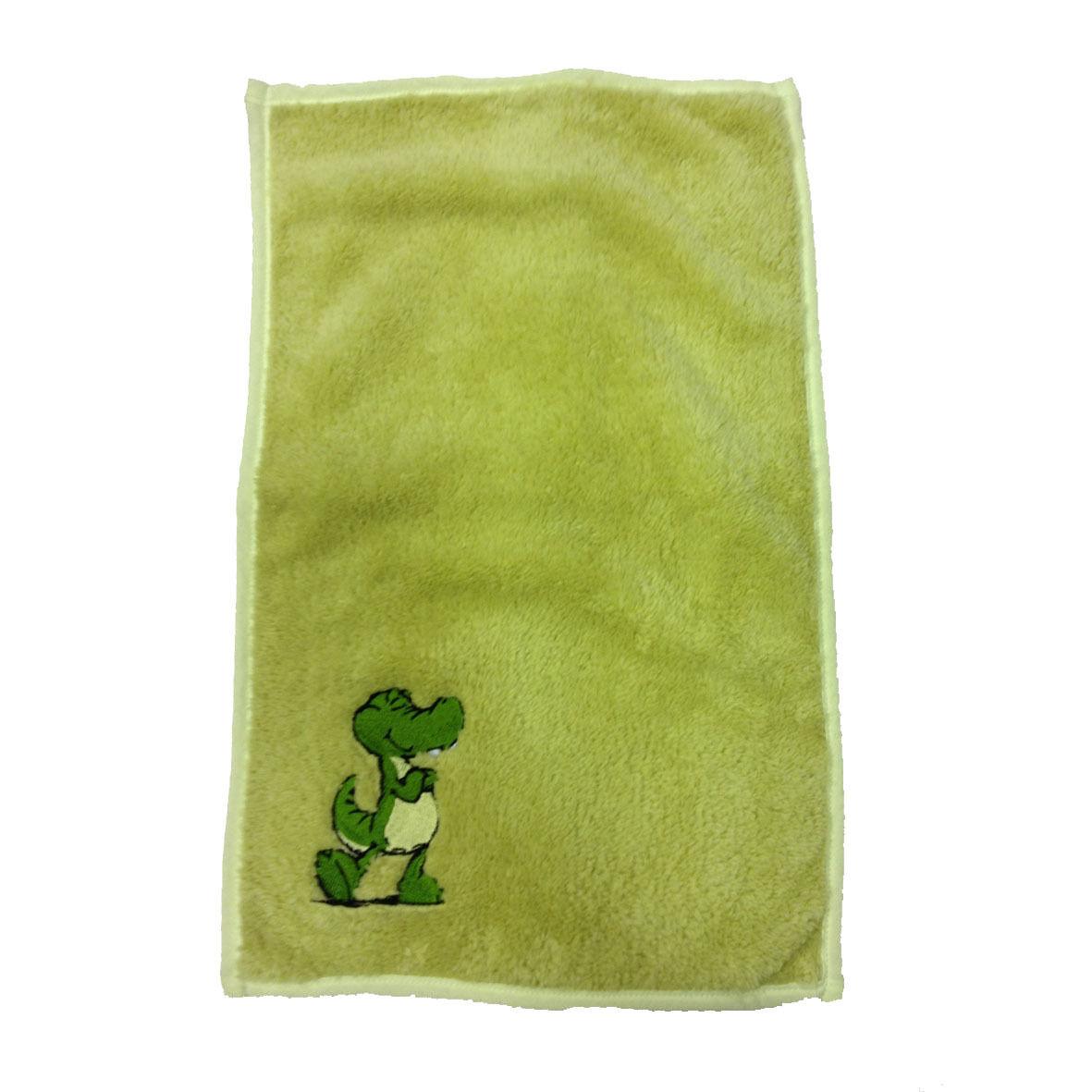 NICI ascigamanino piccolo verde ricamato in morbido peluches 30x50cm