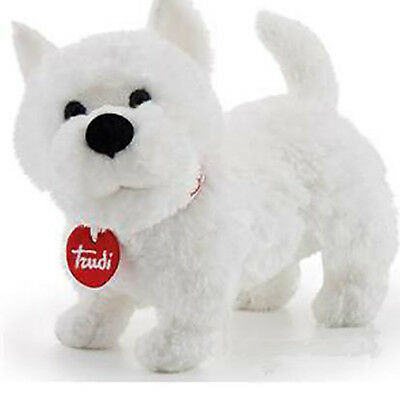 Cane WEST HIGHLAND TERRIER TRUDI cm 20 Top quality made in Italy