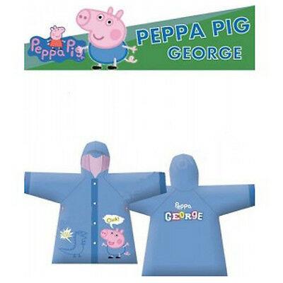 PEPPA PIG impermeabile da bambino varie taglie in plastica da bambino